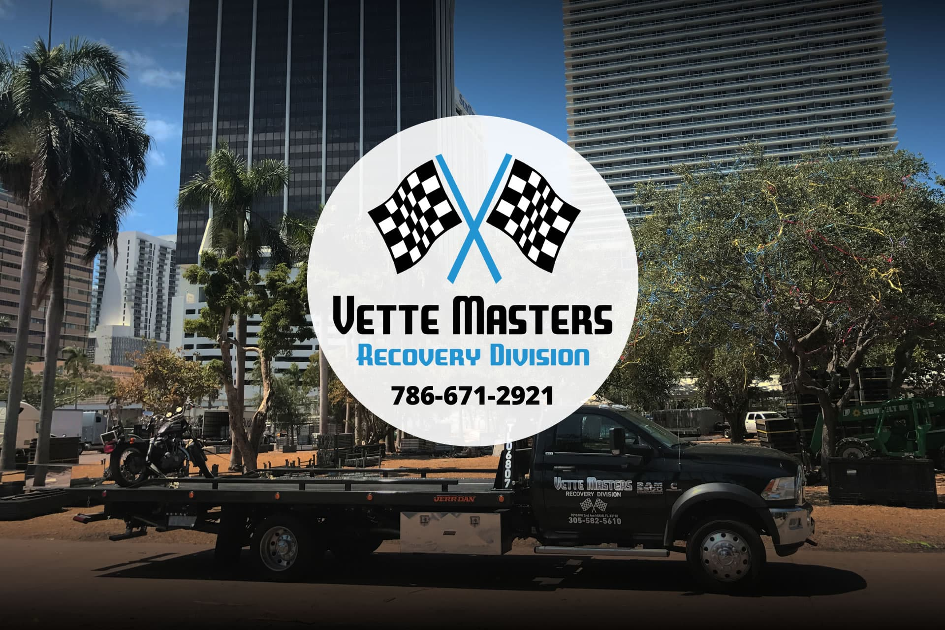 Tow Truck Towing Service in Coral Gables