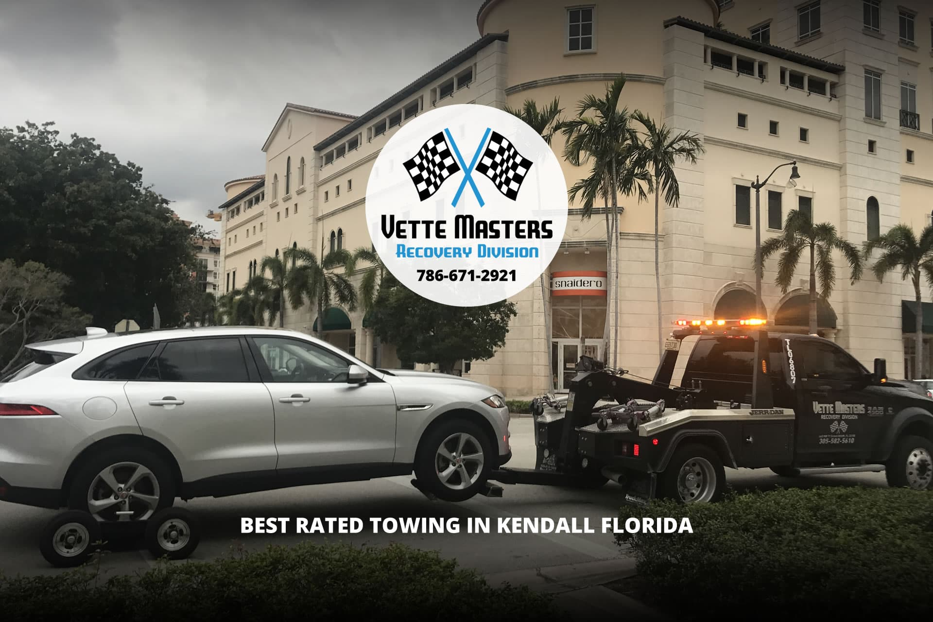 Tow Truck Kendall, Towing Services in Kendall FL